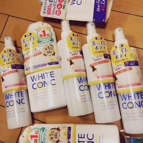 美女們愛的美白沐浴露and美白水 WHITE CONC,全部日本正貨,回頭客超多